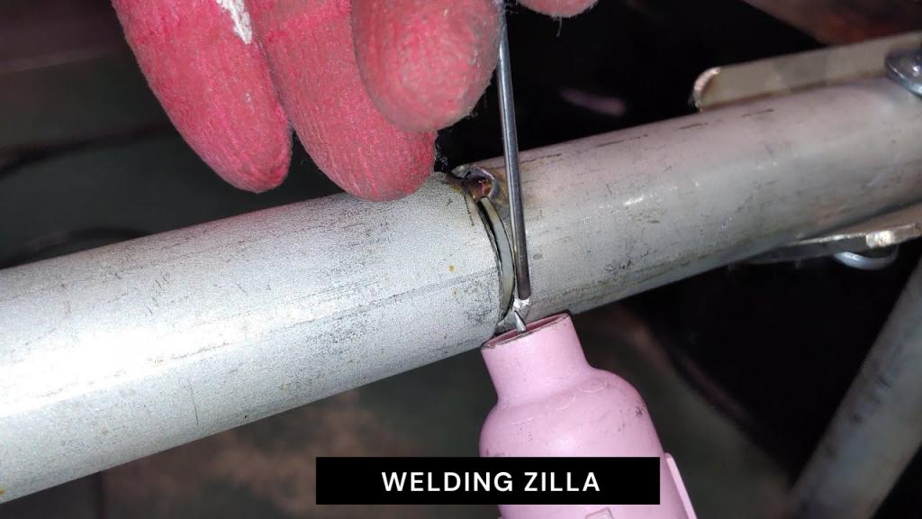 TIG Welding Stainless Steel Pipe