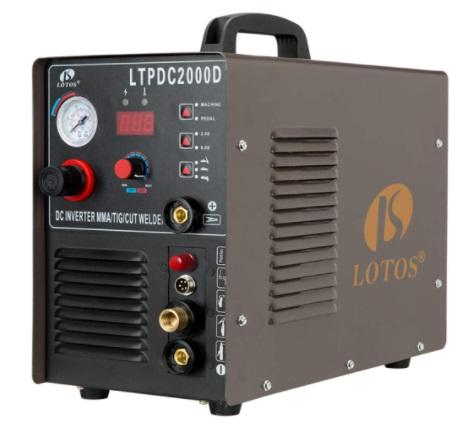 LOTOS LTPDC2000D Non-Touch Pilot Arc 50A Plasma Cutter