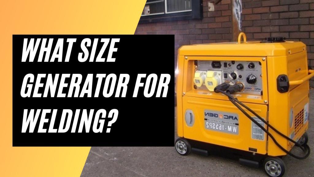 generator for welder