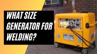Generator for Welder 2021