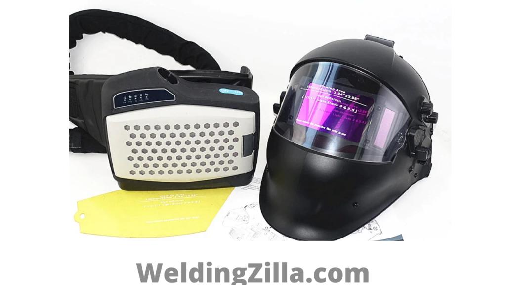 Powered Air-Purifying Welding Masks